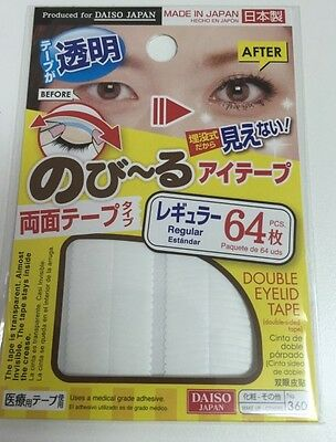 NEW DAISO Double Fold Eyelid Adhesive Tape Sticker No360 Regular  Made in Japan