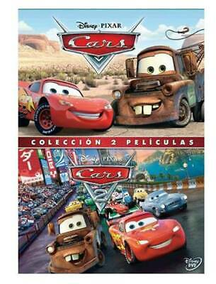 Pack Cars + Cars 2 - DVD (NUEVO PRECINTADO).,