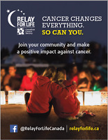 Volunteers Needed for Canadian Cancer Society's Relay For Life