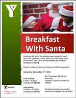 Castle Downs YMCA Annual Breakfast with Santa