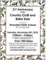 Riverside Country Craft and Bake Sale