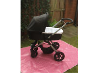 Britax B Motion 4 Buggy/Pram/Pushchair system with Cosy Toes & Extras
