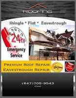 ROOF REPAIR (SAME DAY SERVICE) 647 705 9543