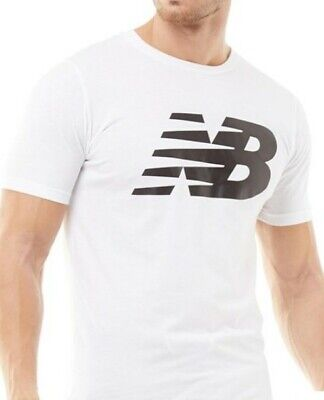 New Balance Mens Back Logo Graphic T-Shirt charcoal size uk XL 100% Authentic.