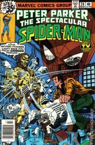 Peter Parker The Spectacular Spider-Man comic #28 from 1979