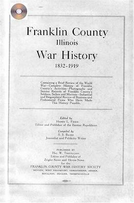 Franklin Co Illinois Benton IL War history Genealogy WWI