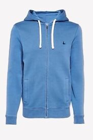 Jack Wills Pinebrook Zip Up Hoodie Marine XL - Brand New with Tags