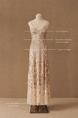 BHLDN Needle & Thread Dress Gown fits size US 4 $629