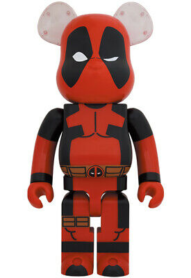 BEARBRICK Deadpool 1000% Dead Pool Marvel Be@rbrick Medicom Toy