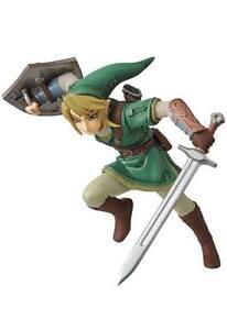 Medicom-Toy-The-Legend-of-Zelda-Twilight-Princess-HD-UDF-Mini-figura-Link-7-cm