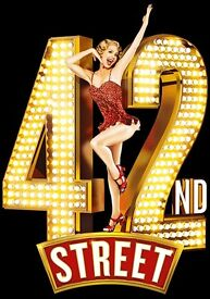 2 Tickets for sale this Saturday to see 42nd Street in London £30 each - £60 for 2