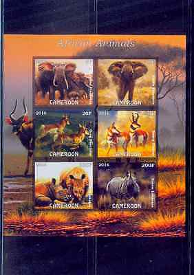 CAMEROON / 2016 ANIMAL SERIES-AFRICAN ANIMALS /MNH.GOOD CONDITION