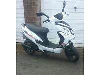 wk go 50cc moped learner 125 comuter zip aerox speedfight ped pit bike quad crosser