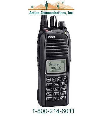 New Icom Ic-f3261dt-40 Vhf 136-174 Mhz 5 Watt 512 Channel 2 Way Radio