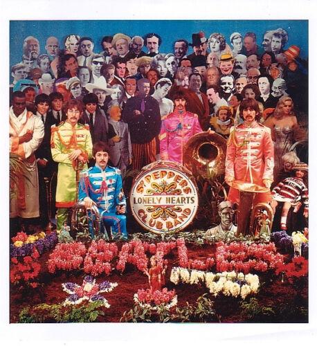 The Beatles Sgt. Pepper's Alternative Album Art Print
