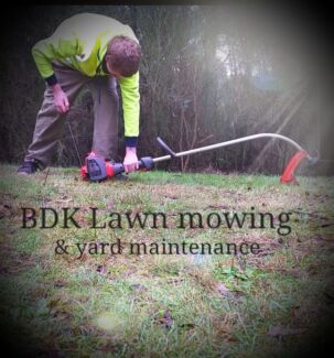 BDK LAWN MOWING & YARD MAINTENANCE  Creswick Hepburn Area Preview