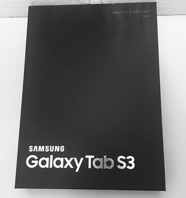 Samsung Galaxy Tab S3 32GB, Wi-Fi, 9.7in - Silver SM-T820 Android tablet NEW
