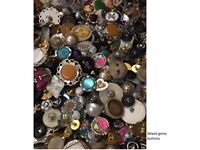 Assorted Buttons Sewing Knitting Mixed Colours Beads Scrapbooking Card making 85g 220g 450g