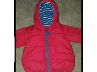 Joules coat 9-12 months