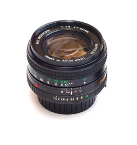 Minolta MD Rokkor-X F/1.4 1:1.4 50mm Lens X700 X570 X370 XD XGM XG9 XG7 XG1