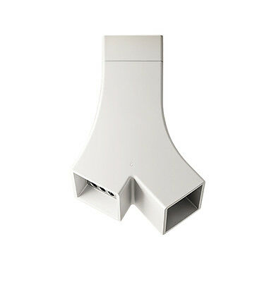 ELICA cappa ad isola YE Aspirante design by Fabrizio Crisà BIANCA