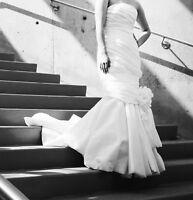 Wedding Dress Mermaid Style Taffeta
