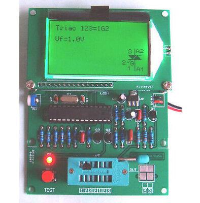 Gm328 Transistor Tester Esr Meter Cymometer Square Wave Generator
