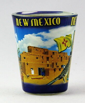 NEW MEXICO STATE COLLAGE SHOT GLASS RTP