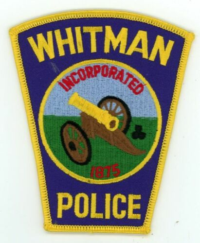 MASSACHUSETTS MA WHITMAN POLICE NEW SHOULDER PATCH SHERIFF
