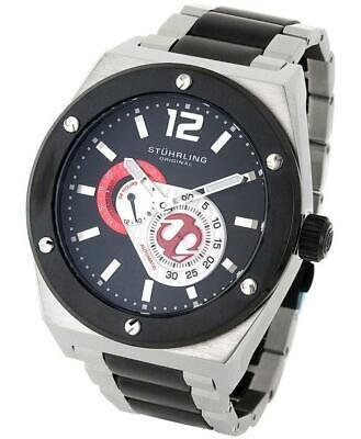 Stuhrling 281B 332D264 Esprit DVie Auto SS GMT Mens Watch
