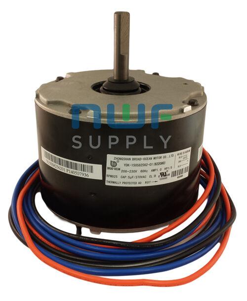 Nordyne Gibson Intertherm Condenser Fan Motor 622080 1/5 HP 825 RPM 208-230v