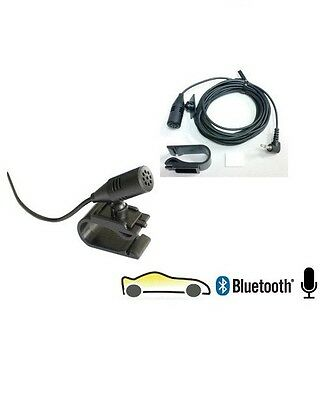 UNIVERSAL 3.5MM EXTERNAL BLUETOOTH MICROPHONE FOR CAR STEREO CD RADIO PLAYERS
