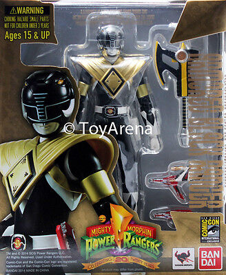 S.H. Figuarts Mighty Morphin Power Rangers Armored Black Ranger SDCC 2014