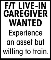Live in Caregiver/Companion for Young Man with Special Needs