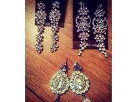 Set of 3 earrings - £2.50 each or 3 for £7