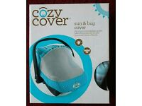 Cozy cover universal baby car seat carrier cover