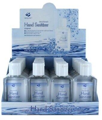 WHOLESALE BULK Hand Sanitizer Lot of 96 2oz Bottles w/ Display Box