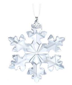 41e5152b2 Swarovski Crystal Christmas Large Ornament Annual Edition 2016 5180210