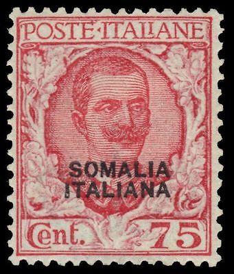 "SOMALIA 90 (Mi99) - King Victor Emmanuel III ""Provisional"" (pa62961)"