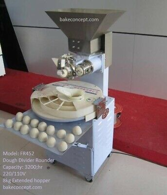 Automatic Dough Divider Rounder Opened Box