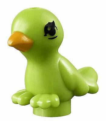 LEGO FRIENDS LIME GREEN BIRD Parrot Tropical Animal Minifigure Figure Minifig ()