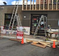 Construction and exterior renovations
