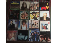 Job lot of 140 Vinyl records Lps. Mostly 80's classic pop.