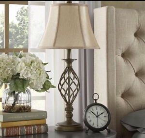 Brand-New Set of Two Table Lamps