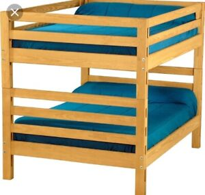 Crate Designs Solid Pine Twin Bed