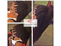 Afro / European Mobile Hairdresser ( Box braids/ Senegalese, Marley, Kinky Twists/ Crotchet Braids)
