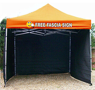 Trade Heavy Duty Aluminium Market Stall Gazebo awning printed sign fast delivery