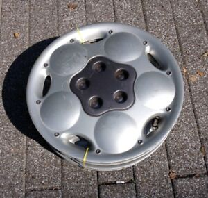 """FOUR - 14"""" hubcaps - for 14 inch rims"""