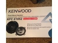 Kenwood Car Speakers Brand New