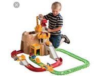 little tikes train mountain set